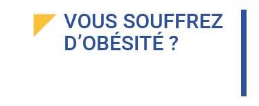 vous osuffrez d'obésité ?